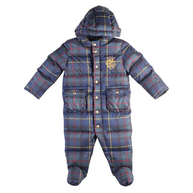 10d76ce201ec Baby Hooded Snowsuit by RALPH LAUREN