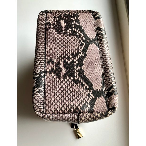 Limited Edition Candy Bag With Leather & Python contrast