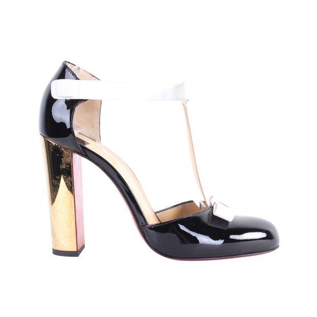 f8e5e81b644 Zerlita Patent Metal Heels by CHRISTIAN LOUBOUTIN