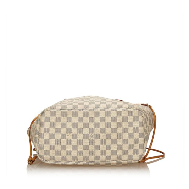 4997d497a4b4 LOUIS VUITTON Damier Azur Neverfull MM 3 thumbnail