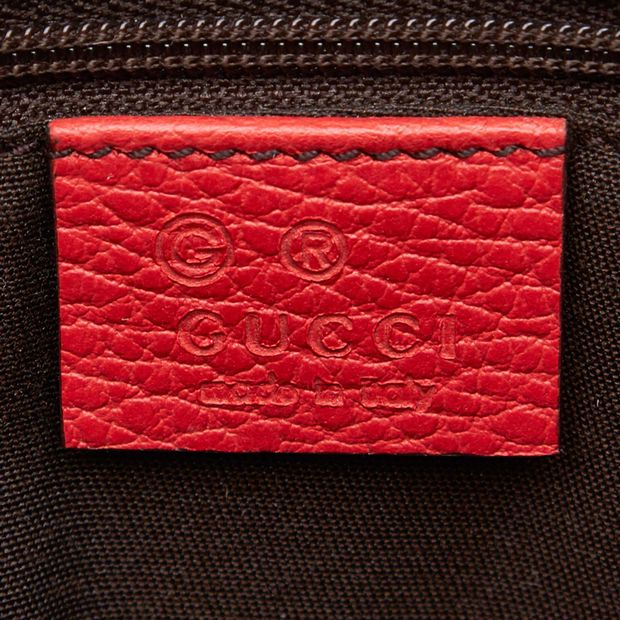1a99e14ad35c3a Leather Dome 2 Way Bag by GUCCI | StyleTribute.com