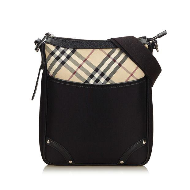 Jacquard Crossbody Bag by BURBERRY  0d79eafc313db