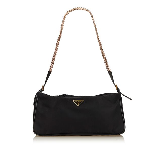 4176af01e083 Nylon Chain Shoulder Bag by PRADA