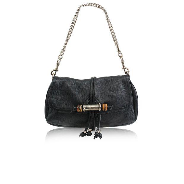 072e9e76c2a GUCCI Black Vintage Mini Bag 0 thumbnail