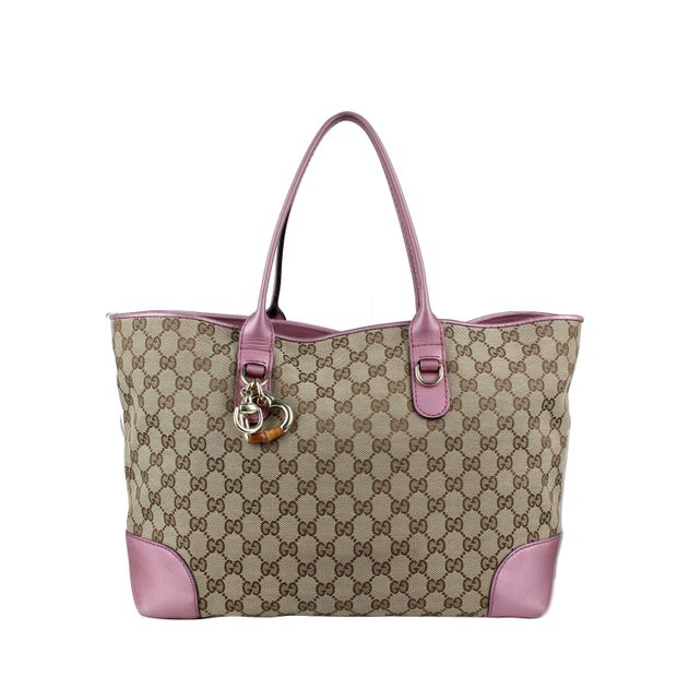 74a11c4d615d Canvas Tote Bag by GUCCI   StyleTribute.com