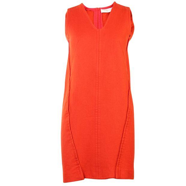 3362e6fb4273e Red Sleeveless Dress by STELLA MCCARTNEY | StyleTribute.com