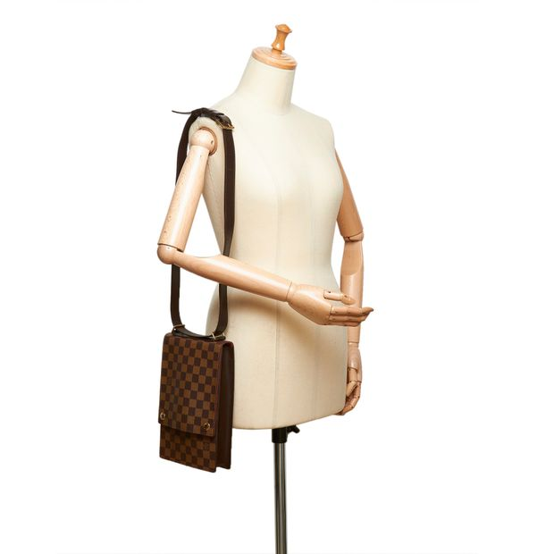6fd9d4c04c70 Damier Ebene Portobello Crossbody by LOUIS VUITTON