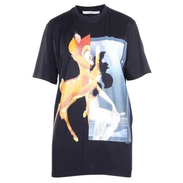 1454b91e4 Disney Printed Cotton-Jersey T-Shirt by GIVENCHY | StyleTribute.com