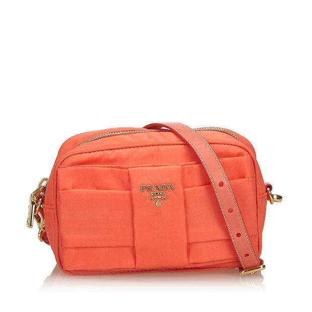 d60054945215 Nylon Bow Crossbody Bag by PRADA | StyleTribute.com