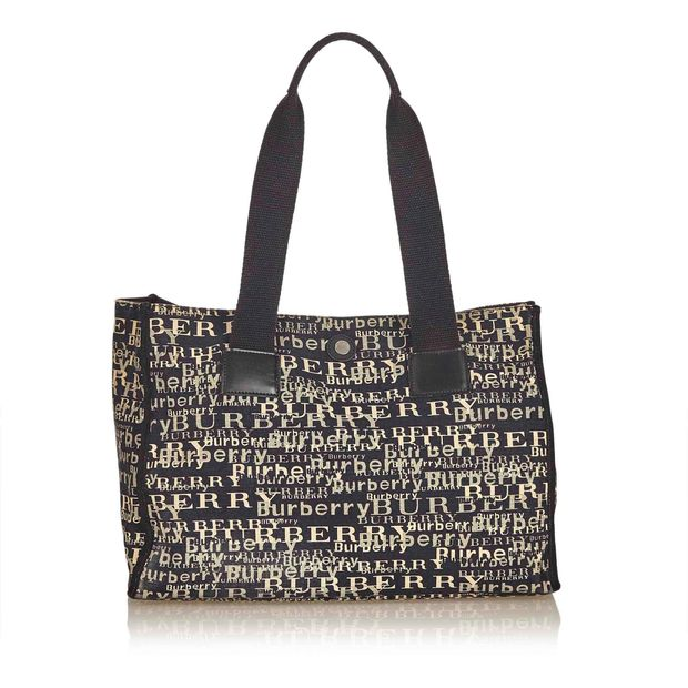 56f74dc6d438 Printed Canvas Tote Bag by BURBERRY