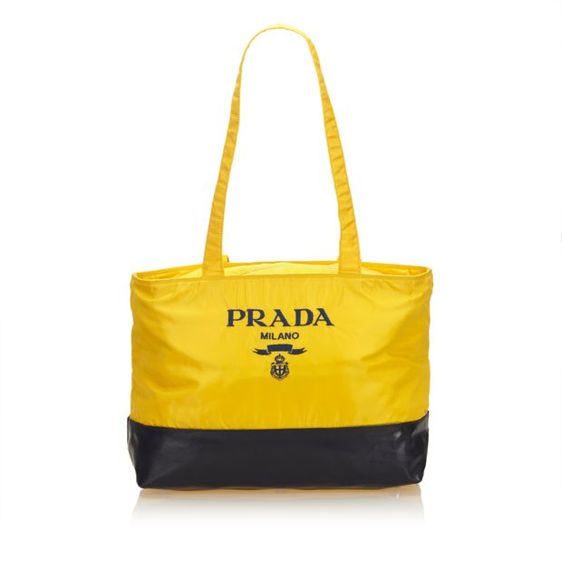 9553fd2f74f7 Logo Nylon Shoulder Bag by PRADA