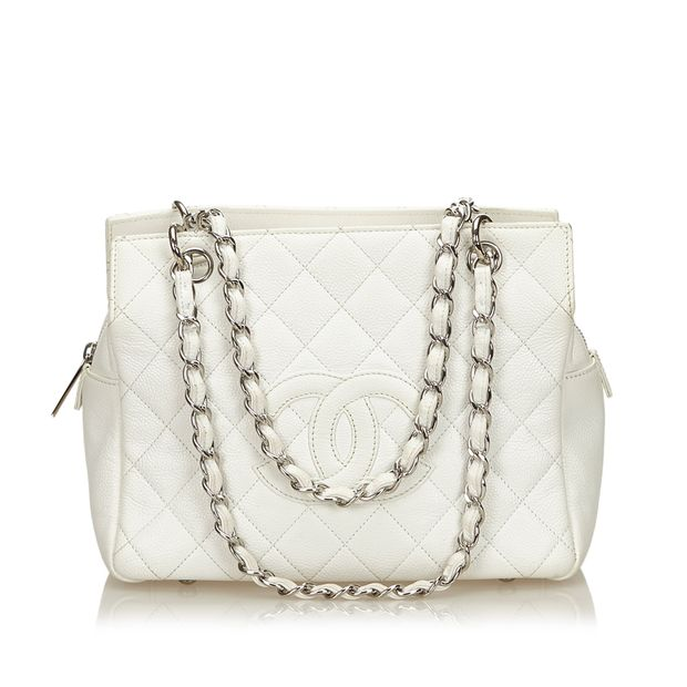84204cdcae32 Caviar Petite Timeless Tote by CHANEL | StyleTribute.com