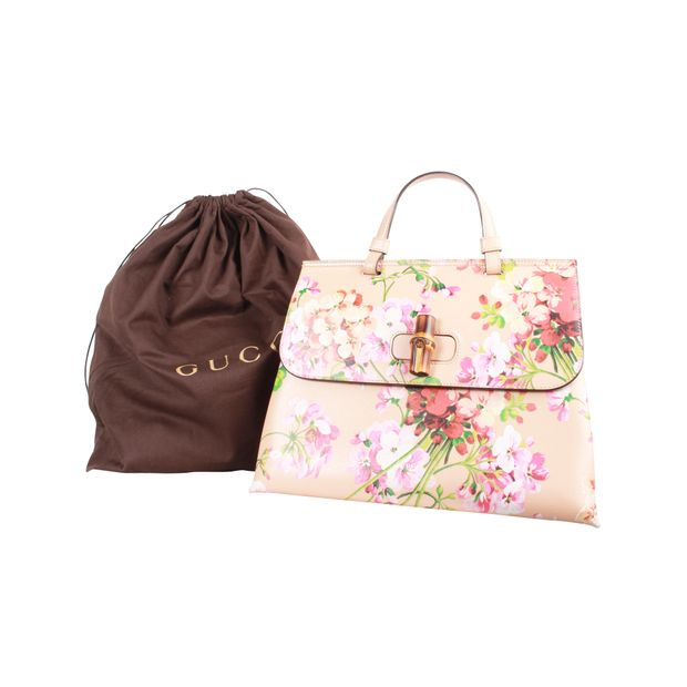 2ed0d04d5230 Daily Blooms Small Floral-Print Frame Bag by GUCCI | StyleTribute.com