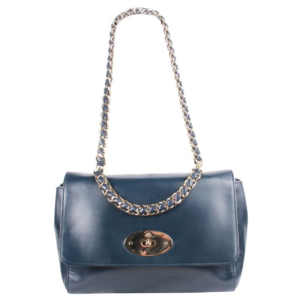 02fac3cdd0 Navy Blue Lily Bag by MULBERRY