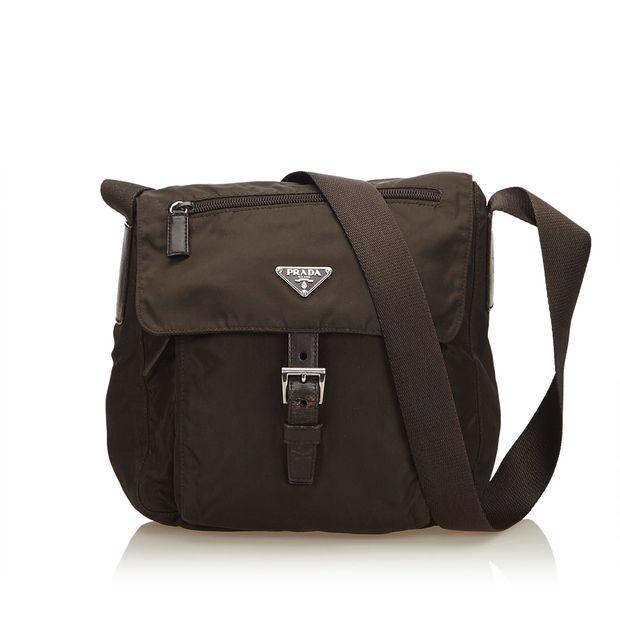 54b182e4f786 Nylon Messenger Bag by PRADA