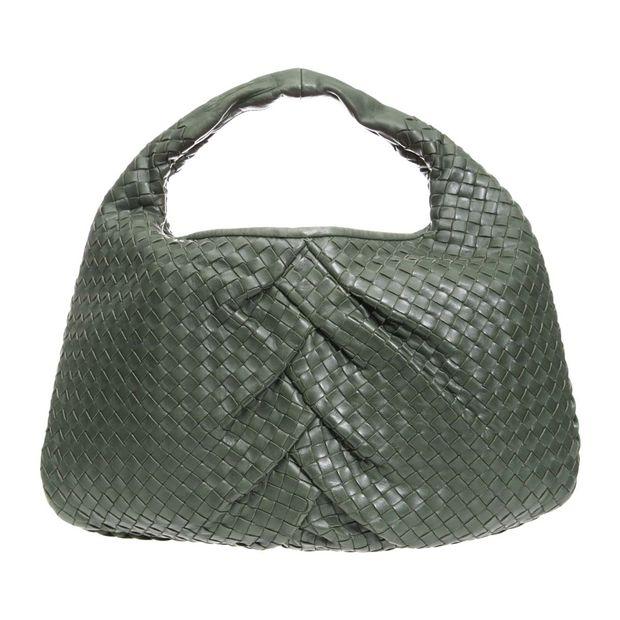 fbf9fc10d1 BOTTEGA VENETA Medium Intrecciato Nappa Woven Pleated Hobo Bag 0 thumbnail