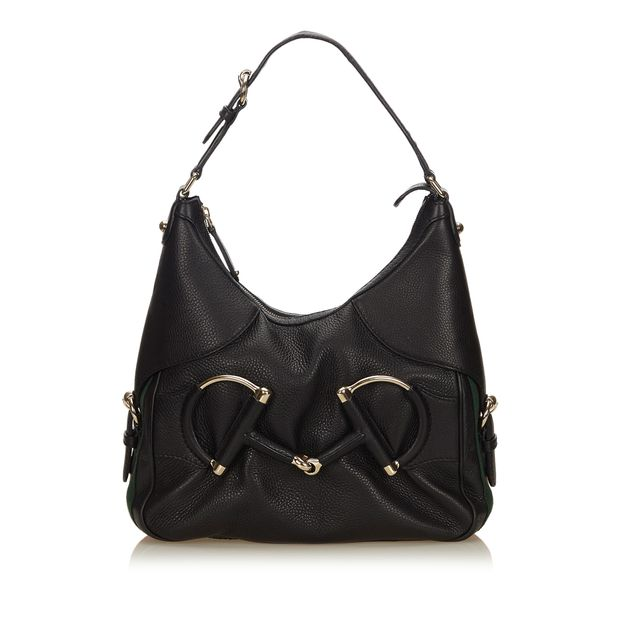 184411be516 Leather Heritage Hobo by GUCCI