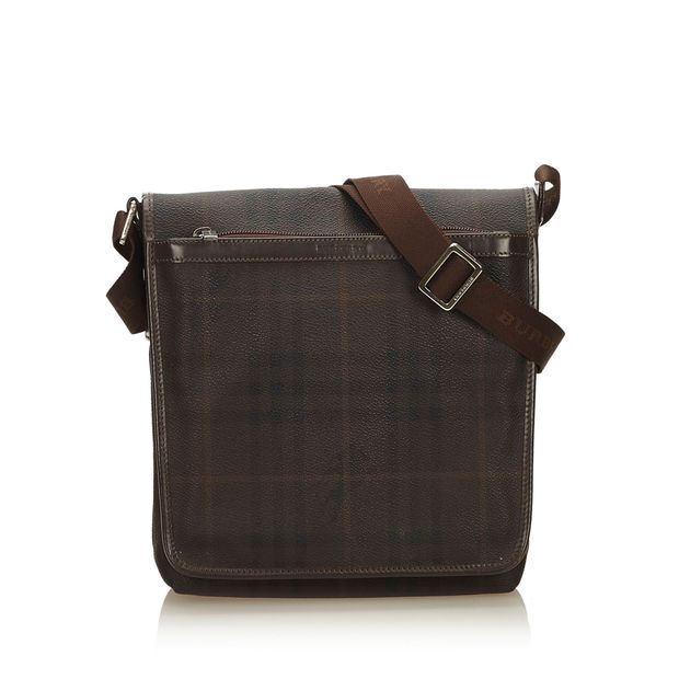 ba1b4cd6139c Plaid Shoulder Bag by BURBERRY