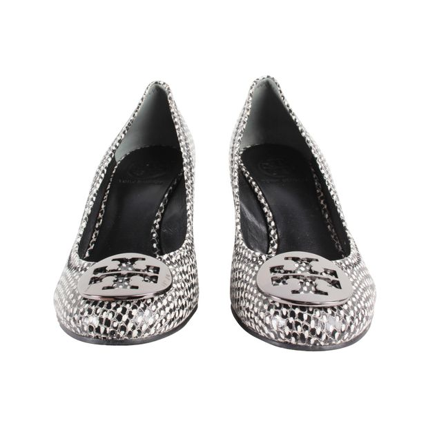 fbae0f9f0de8 TORY BURCH Chelsea Python-Embossed Wedges 2 thumbnail