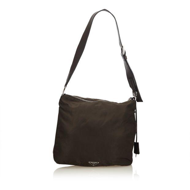 961dd25fde4bad Nylon Crossbody Bag by PRADA   StyleTribute.com
