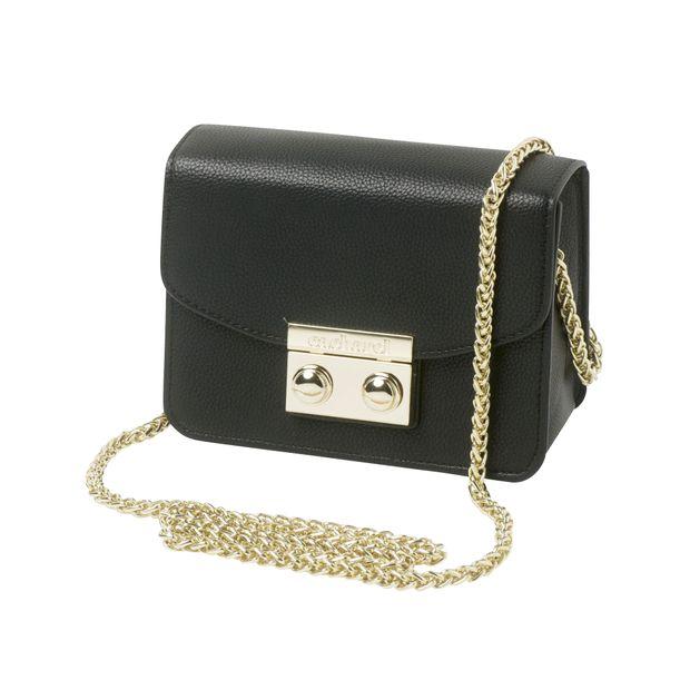 e3848f1ceb3 Ladies Mini Shoulder Bag In Black by CACHAREL | StyleTribute.com