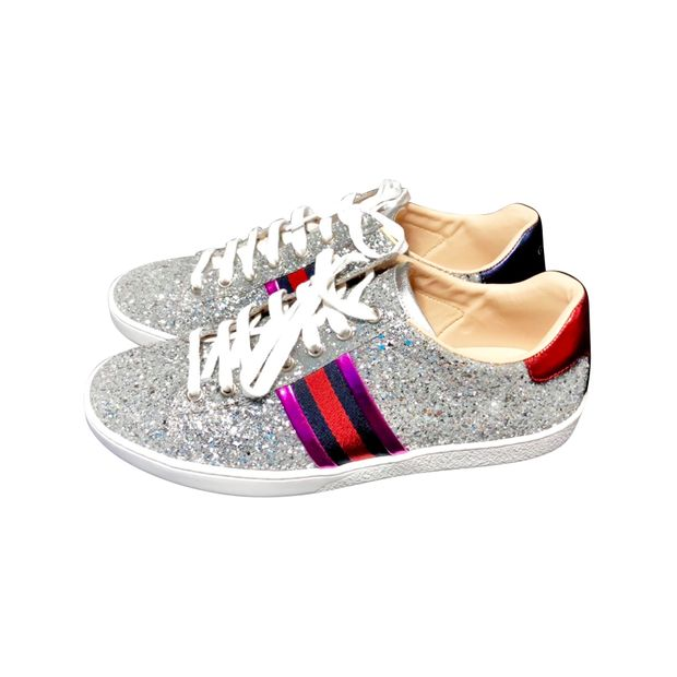 3383f8d2639f Ace Glitter Sneaker by GUCCI | StyleTribute.com