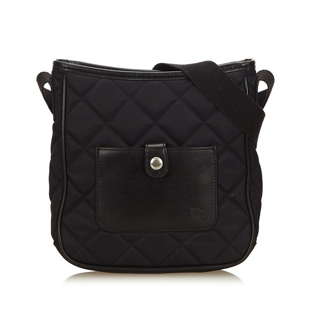 3a1630644352 Quilted Nylon Crossbody Bag by BURBERRY