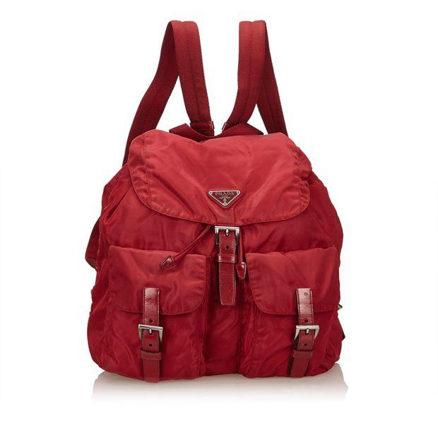 4d30dc4ee0e8 Nylon Backpack by PRADA   StyleTribute.com