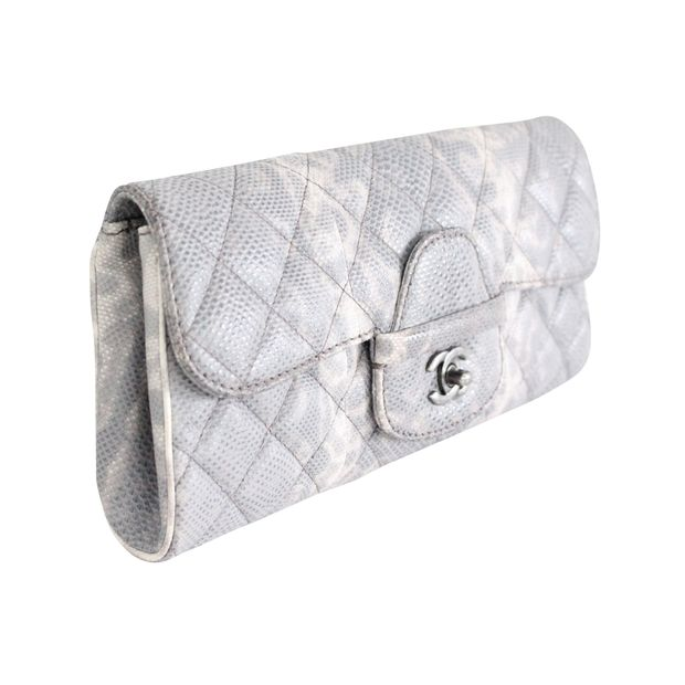 c33cd60419edeb Animal Print Long Clutch by CHANEL | StyleTribute.com