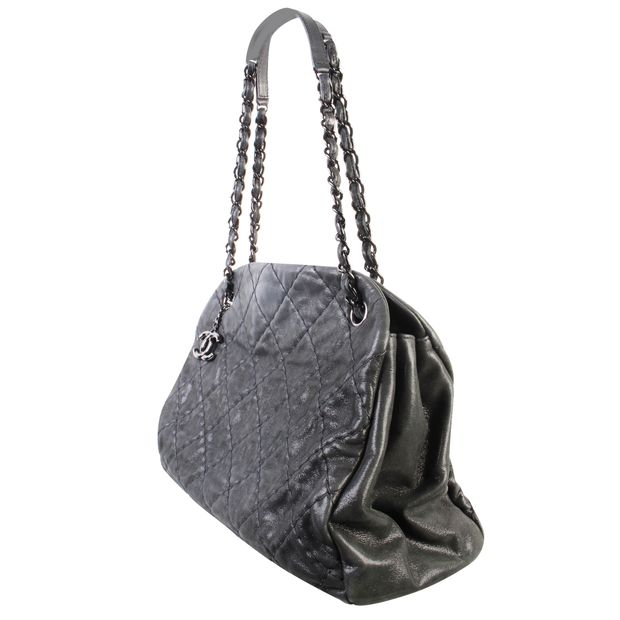 8f9d4ac55775 Calfskin Bowling Tote by CHANEL | StyleTribute.com