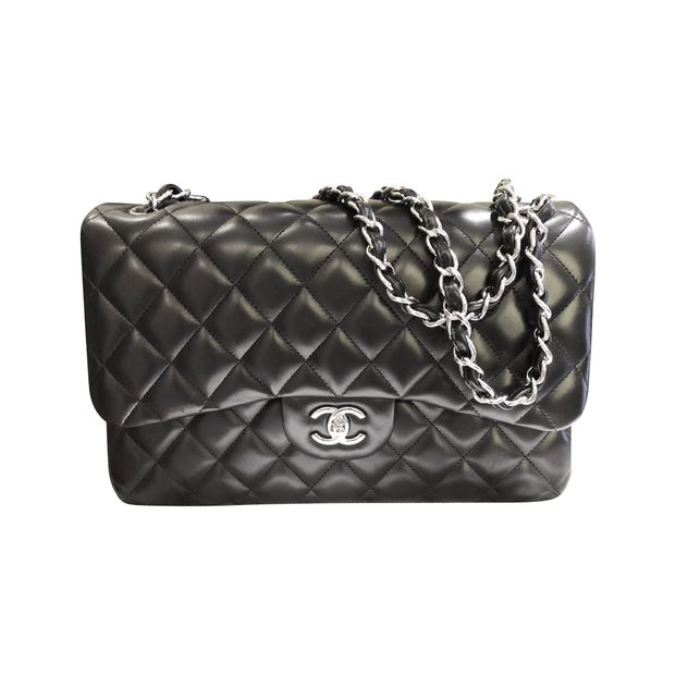 0733d9bac8fb Lambskin Classic Flap Bag by CHANEL | StyleTribute.com