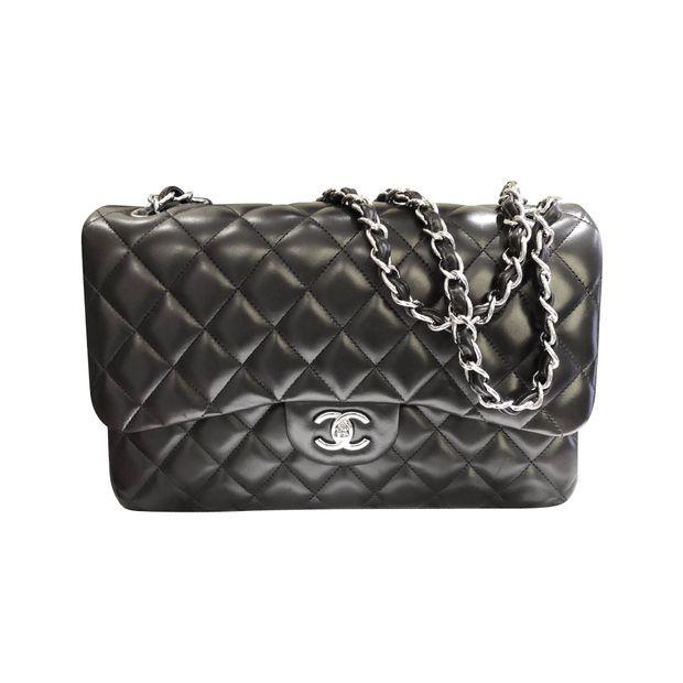 dbfa12140275 Lambskin Classic Flap Bag by CHANEL | StyleTribute.com