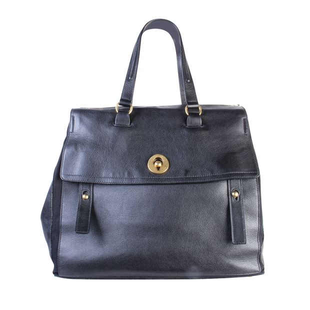 da39eb32482 Giant Muse Two Travel Bag by YVES SAINT LAURENT | StyleTribute.com