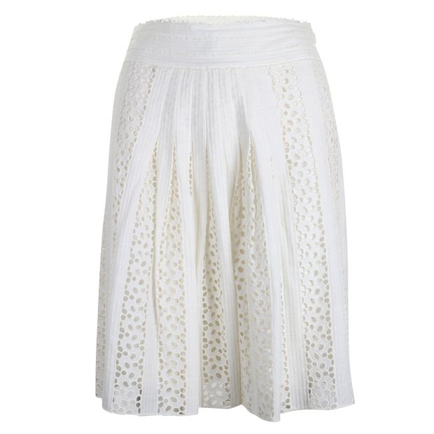 7920180bc1 Lace Skirt by VIVIENNE TAM | StyleTribute.com