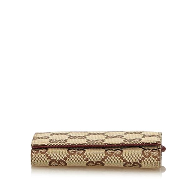 0cd30b87551754 Guccissima Jacquard Card Holder by GUCCI | StyleTribute.com
