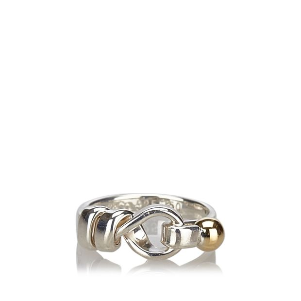 ca26dd7d1 Hook and Eye Ring by TIFFANY & CO   StyleTribute.com
