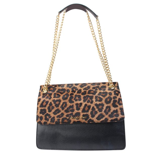 66a320854015a8 Leopard Sling Bag by MICHAEL KORS | StyleTribute.com