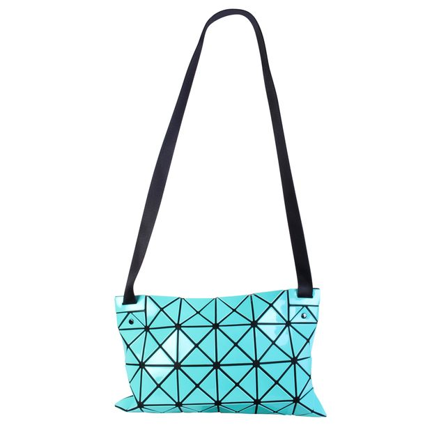 Turquoise Bao Bao Sling Bag by ISSEY MIYAKE  70e340b4b052e