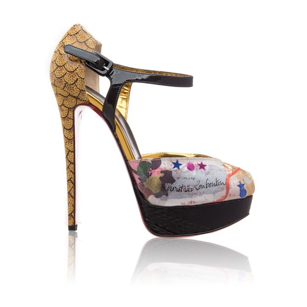 finest selection 59071 f62fd PVC Watersnake Lucido Pumps