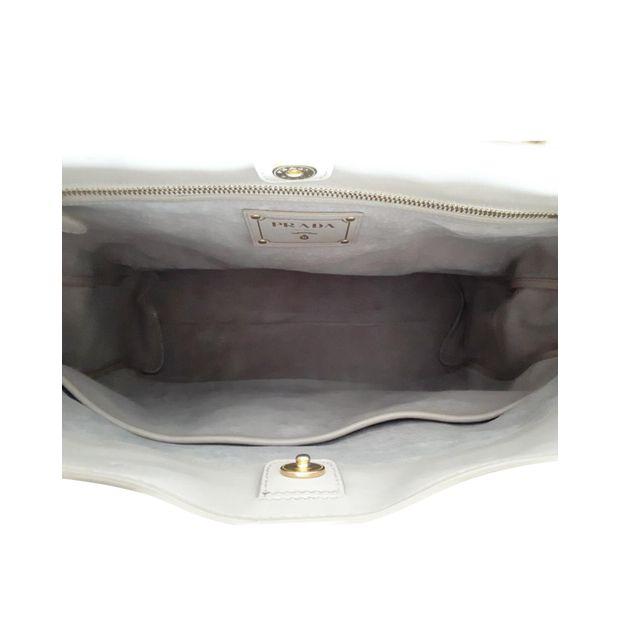 d648f2688dcd Prada Vitello Daino Shopping Tote Bag by PRADA   StyleTribute.com