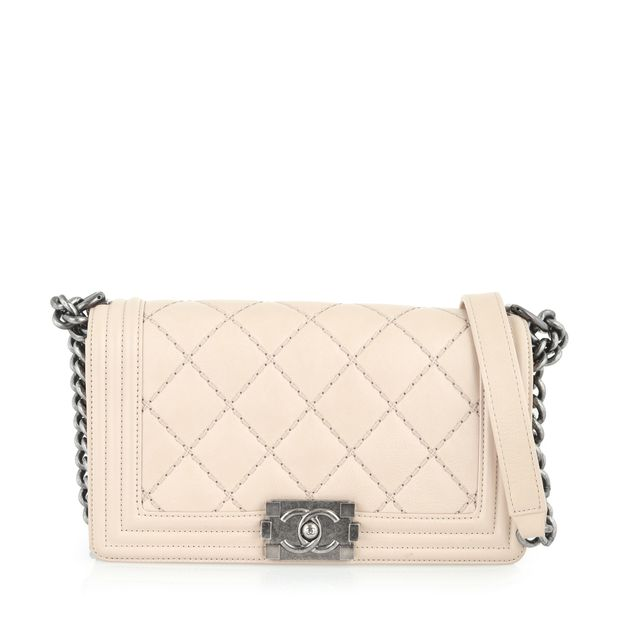 e90aeea15af1 Medium Quilted Boy Bag by CHANEL | StyleTribute.com