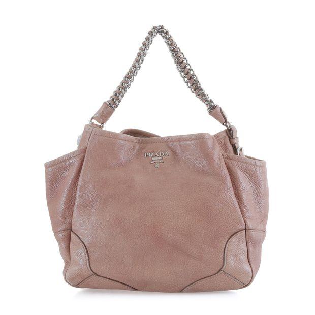 0c7f69872d49f5 Cervo Lux Chain Shoulder Bag by PRADA | StyleTribute.com