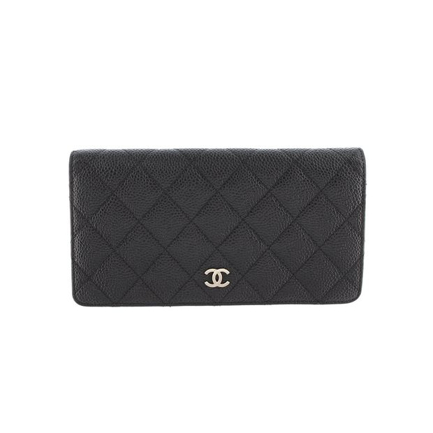 d9787e12d684 Matelasse Caviar Leather Wallet by CHANEL | StyleTribute.com