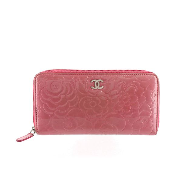 e8911d186786 Camellia Patent Leather Wallet by CHANEL | StyleTribute.com
