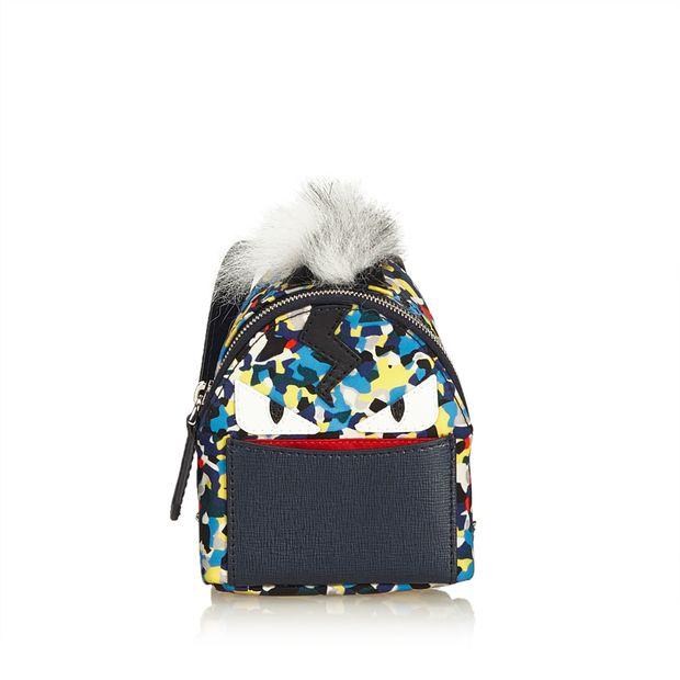 e3d33bf0bff2 Mini Monster Backpack Bag Charm by FENDI