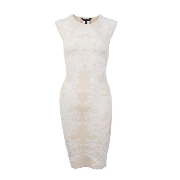 3bf225264e4 BCBGMAXAZRIA Body Con Floral Motif Dress 0 thumbnail