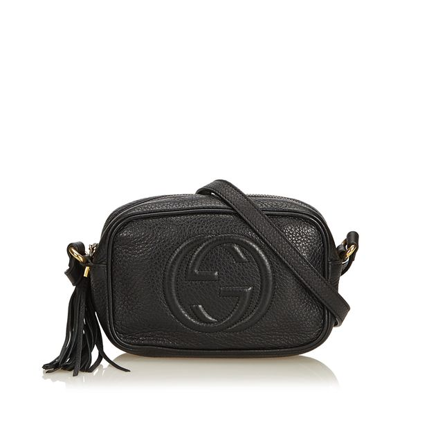 a1785eb55 Soho Disco Crossbody Bag by GUCCI | StyleTribute.com
