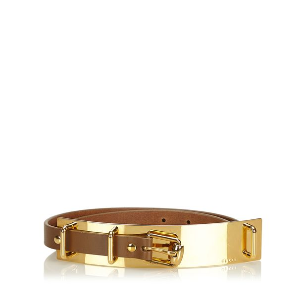 d73800666a23 Leather Belt by GUCCI | StyleTribute.com