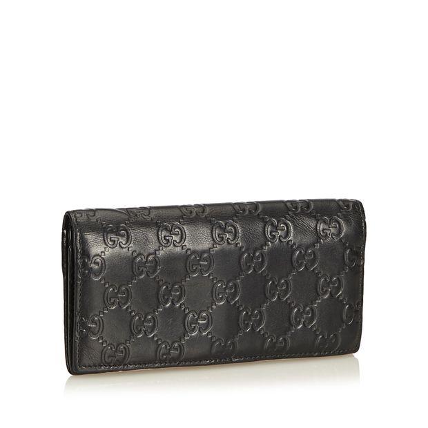 b537f11e098c27 Guccissima Continental Wallet by GUCCI | StyleTribute.com