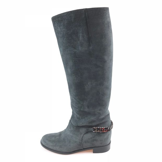d67f01f61d0 Grey Christian Louboutin Boot